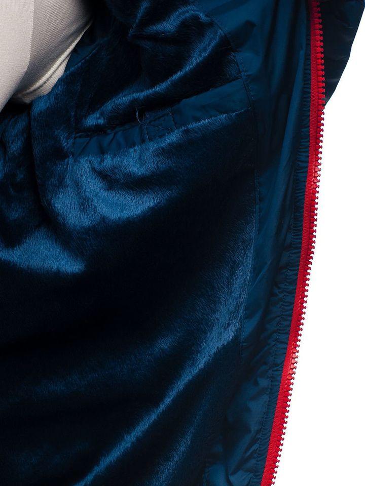 Чоловіча зимова куртка темно-синя Bolf A132 ТЕМНО-СИНІЙ 75bab500a3607