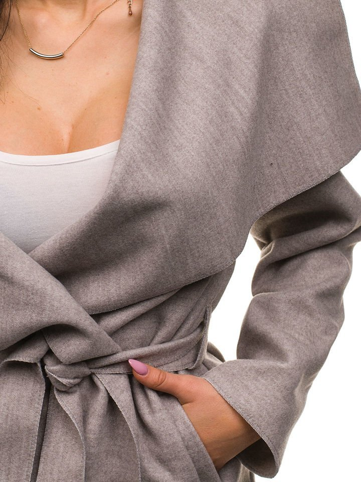 ... Бежеве жіноче пальто Bolf 1729 ... b12c736968c5d