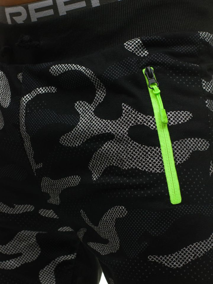 ... Чоловічі трикотажні штани джогери камуфляж-чорні Bolf ML223 ... 3f7aaf3a64517