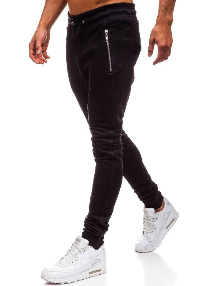 Чоловічі спортивні штани багі чорні Bolf 43S-S ЧОРНИЙ 316bb71a1ad58