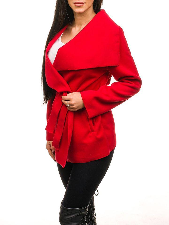 Червоне жіноче пальто Bolf 1726 ЧЕРВОНИЙ ded6219c42570