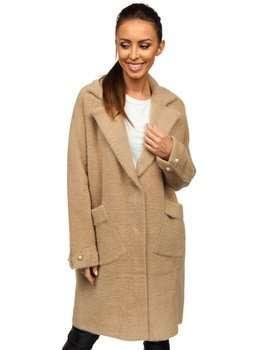 Бежевое женское пальто Bolf 20737