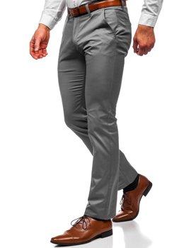 Графитовые мужские брюки чинос Bolf Bolf KA1786P