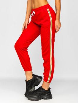 Женские красные спортивные штаны Bolf YW01020B