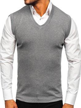 Жилет мужской серый Bolf H1950