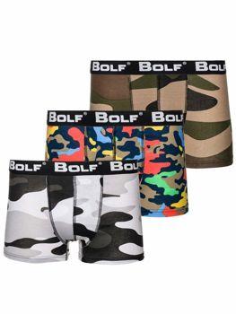 Комплект мужских боксеров мультиколор Bolf 0953-3P 3 шт.