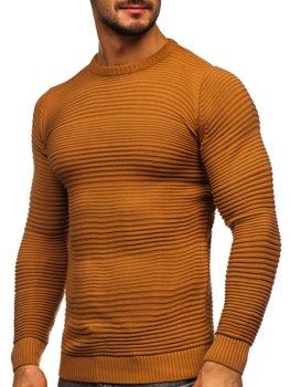 Коричневый мужской свитер Bolf 4608