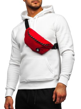 Красная мужская сумка Bolf NR79