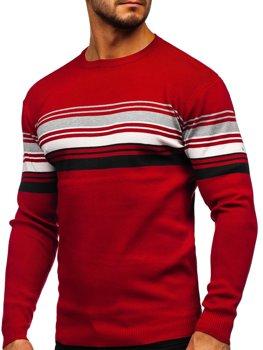 Красный мужской свитер Bolf H2061