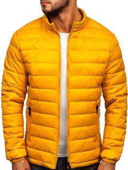 Куртка мужская демисезоная стеганая кэмел Bolf 1119