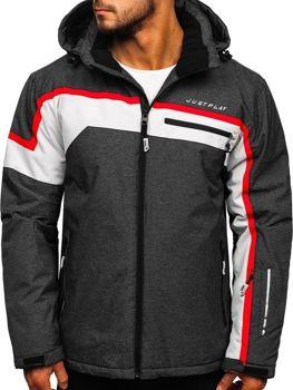 Куртка мужская лыжная графитовая Bolf 1339