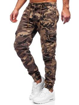 Кэмел мужские брюки джоггеры карго Bolf CT6026S0