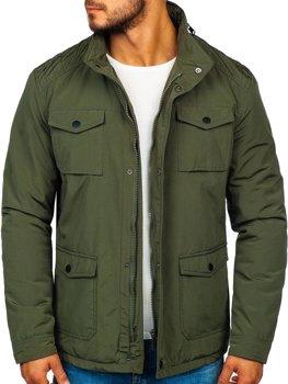 Мужская демисезонная куртка хаки Bolf 1850