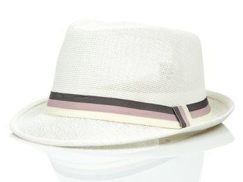 Мужская панама белая Bolf KAP214