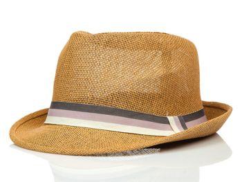 Мужская панама коричневая Bolf KAP214