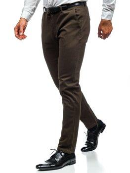 Мужские брюки чинос хаки Bolf 1120