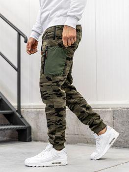 Мужские спортивные брюки багги камуфляж-мультиколор Bolf 3769F