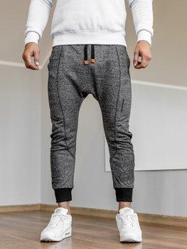 Мужские спортивные брюки багги черные Bolf Q5001