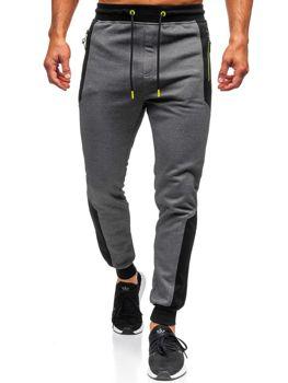 Мужские спортивные брюки графитовые Bolf TC849
