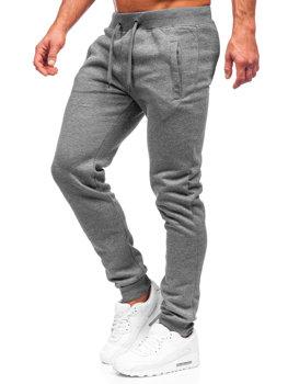 Мужские спортивные брюки графитовые Bolf XW01-A