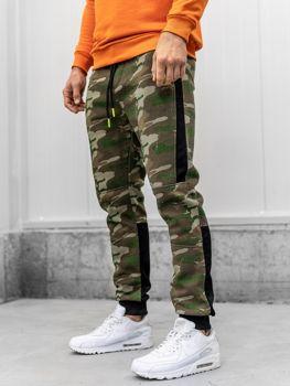 Мужские спортивные брюки камуфляж мультиколор Bolf 3783C
