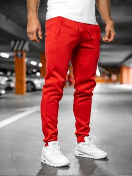 Мужские спортивные брюки красные Bolf XW01
