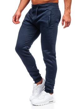 Мужские спортивные брюки чернильные Bolf XW01-A
