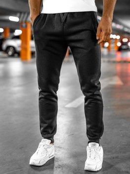 Мужские спортивные брюки черные Bolf XW01