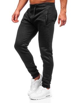 Мужские спортивные брюки черные Bolf XW01-A