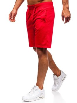 Мужские спортивные шорты красные Bolf AA10-A