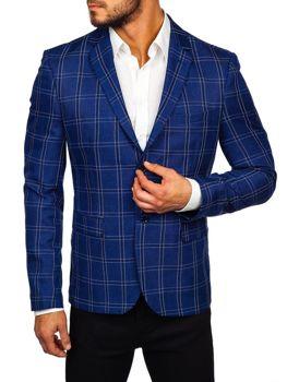 Мужской пиджак синие Bolf 1666