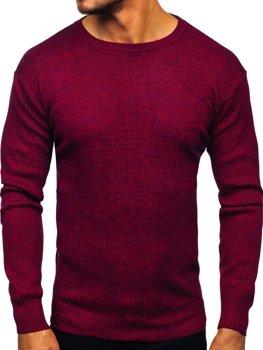 Мужской свитер бордовый Bolf 8529