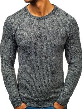 Мужской свитер графитовый Bolf H1818