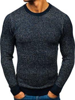 Мужской свитер темно-синий Bolf H1818