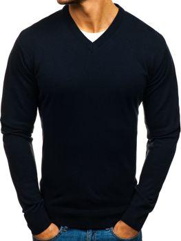 Мужской свитер чернильный Bolf 200