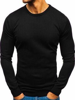 Мужской свитер черный Bolf 2300