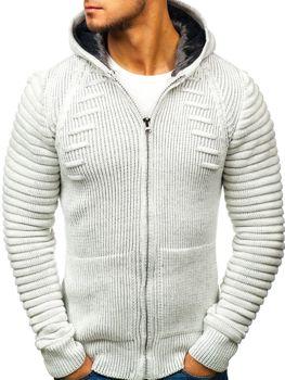 Мужской свитер экрю Bolf 20005