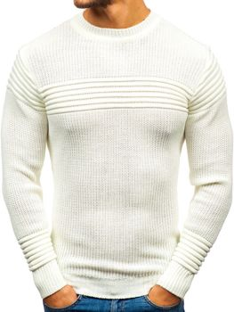 Мужской свитер экрю Bolf6004