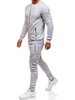 Мужской спортивный костюм серый Bolf 43S