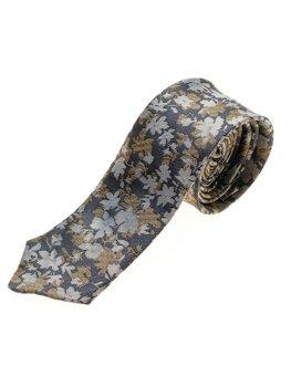 Мужской элегантный галстук темно-синий Bolf K109