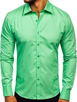 Рубашка мужская BOLF 1703 ментоловая