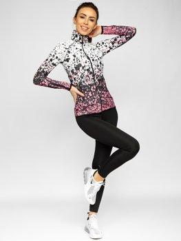 Светло-розовый женский спортивный костюм Bolf 20401