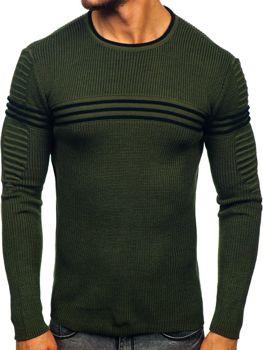 Свитер мужской зеленый Bolf 0001
