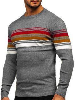 Серый мужской свитер Bolf H2061
