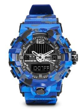 Синий камуфляж мужские наручные часы Bolf 3261