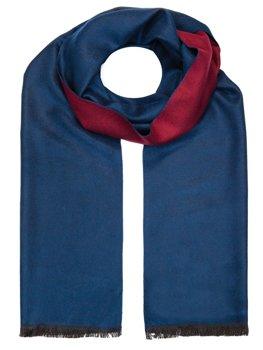 Темно-синий мужской шарф Bolf YW08002