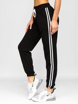 Черные женские спортивные брюки Bolf HZ001