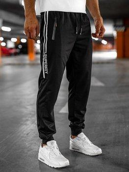 Черные мужские спортивные брюки Bolf JX316