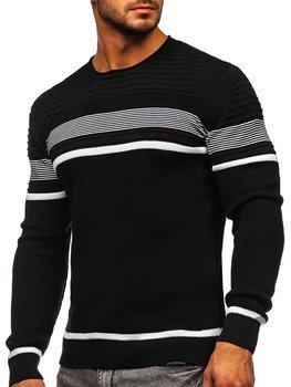Черный мужской свитер Bolf 1061