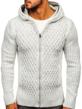 Чоловічий светр екрі Bolf 20016
